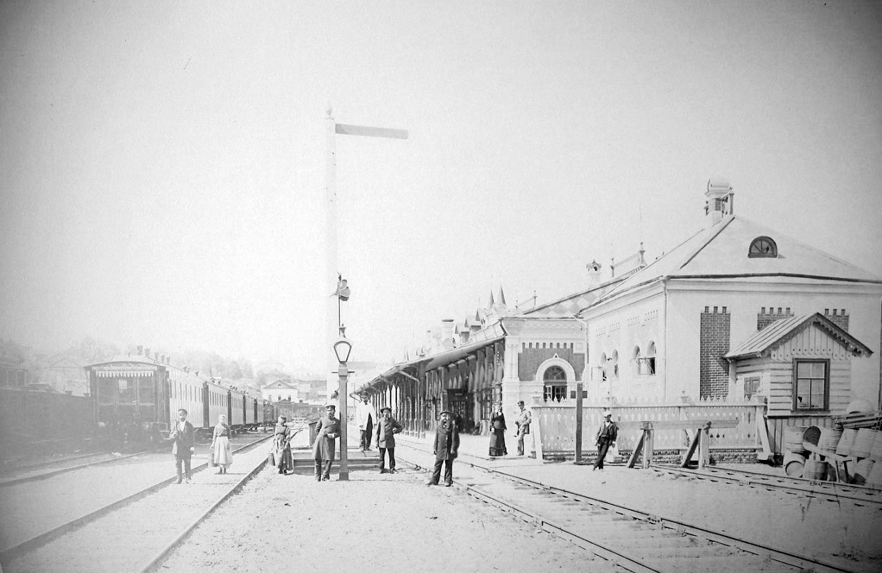 На станции Пермь I