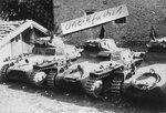 "Легкие танки Pz.Kpfw.I из Легиона ""Кондор"" в Испании."
