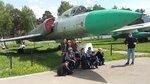 27 мая ребята из Дружины им. свящмч. Георгия Извекова побывали в музее ВВС РФ г.Монино. В музее под открытым небом собраны самолеты и вертолеты, ознакомились с многочисленными экспонатами, отражающими почти полуторавековую историю русской авиации