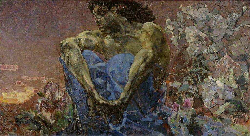 «Демон сидящий»1890г.