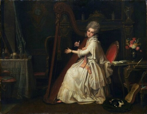 Richard Cosway (English, 1742-1821) Marianne Dorothy Harland (1759-1785), Later Mrs. William Dalrymple