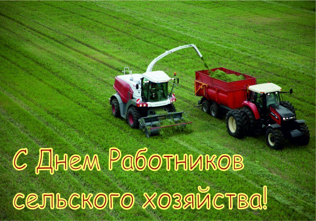 С Днем работников сельского хозяйства. Поздравляем вас