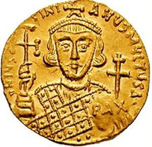 Юстиниан II Ринотмет (первое правление).