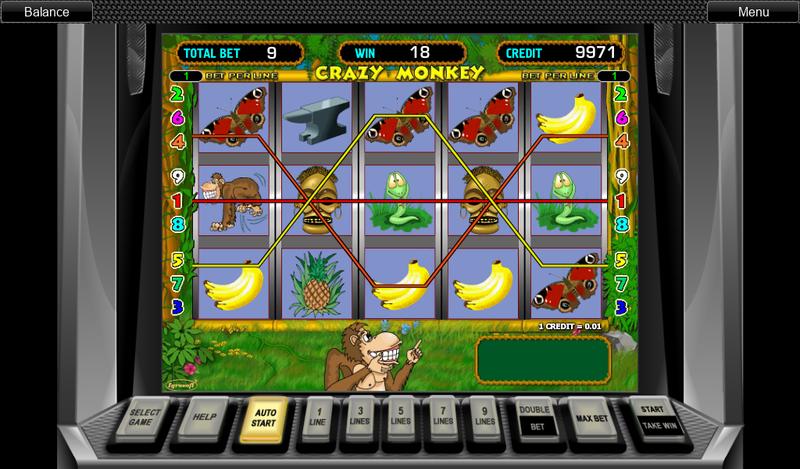 Обезьянки игровой автомат основная игра