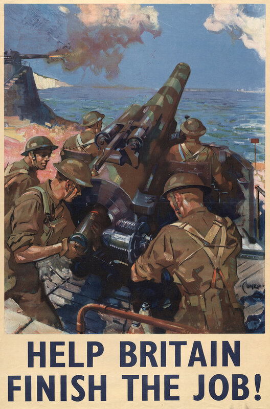 Help Britain finish the job! - Cuneo (1907-1996, WWII).