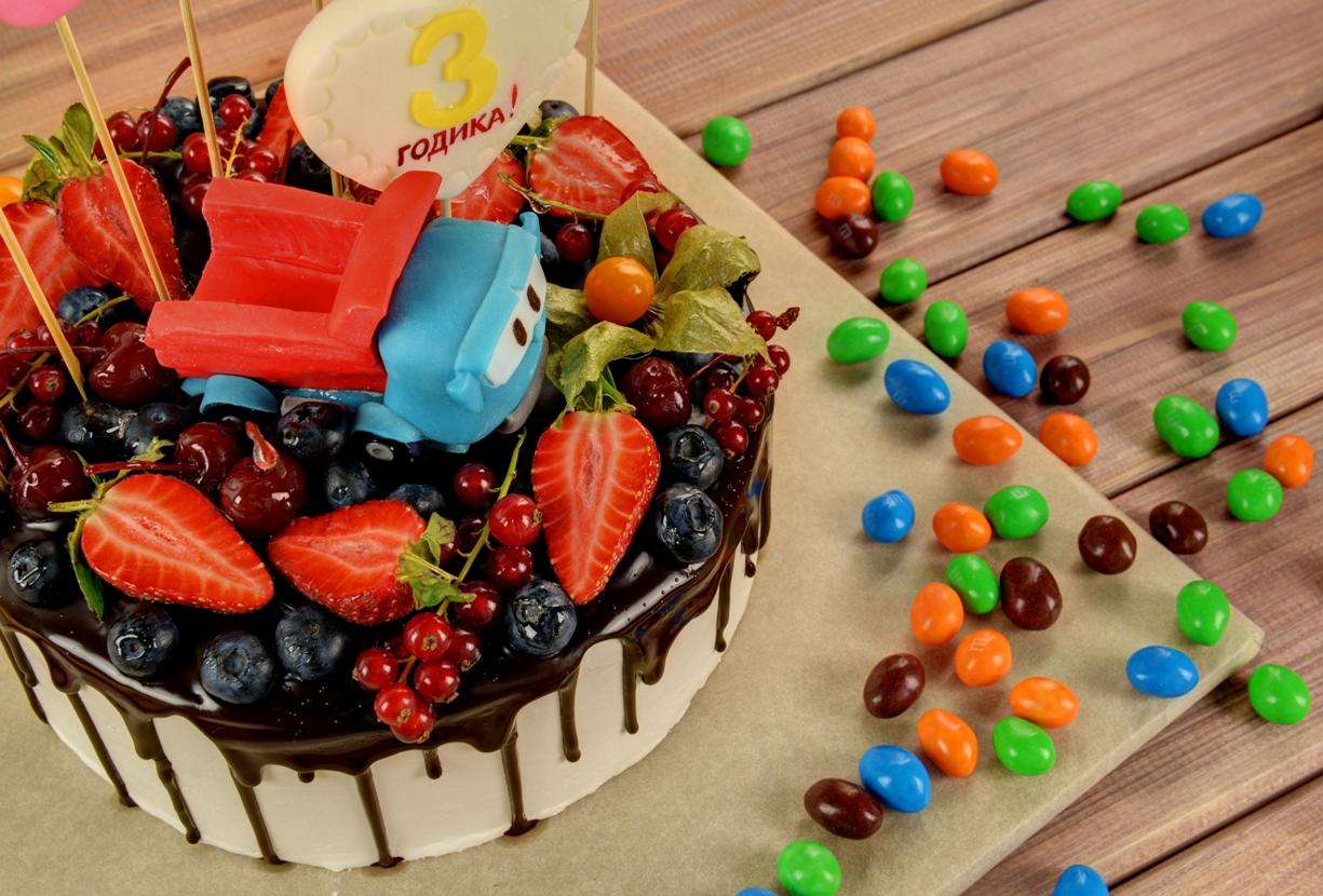 Как выбрать торт на детский праздник? (1 фото)