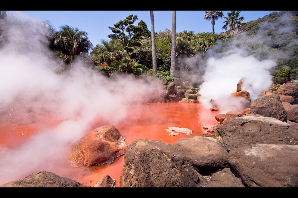 Эль Татио, Чили    На Земле существует пять крупных геотермальных район