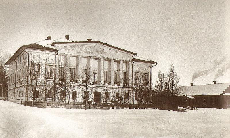 Дом, где родился Л.Н. Толстой, 1828 год. В 1854 году дом продан по распоряжению писателя на вывоз в