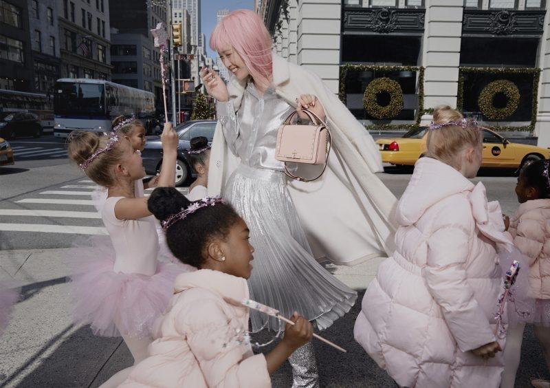 Фернанда Ли в рекламной кампании Kate Spade (4 фото)