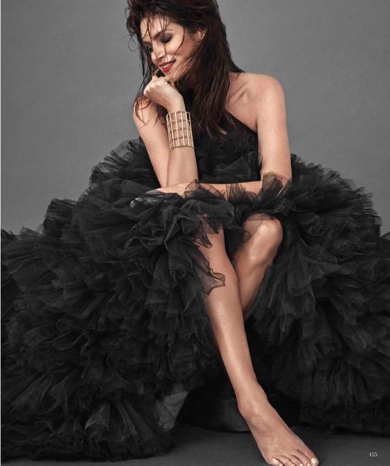 Синди Кроуфорд в Harper's Bazaar Mexico