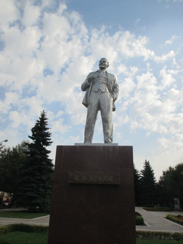 Ленин и слесарь