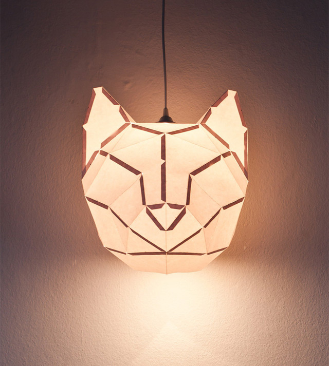 DIY Foldable Paper Animal Lights by MostLikely (5 pics)