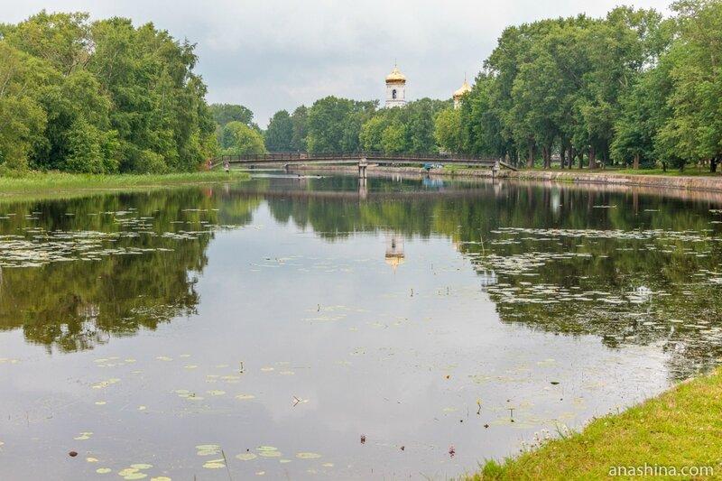 Река Цна и Богоявленский собор, Вышний Волочёк