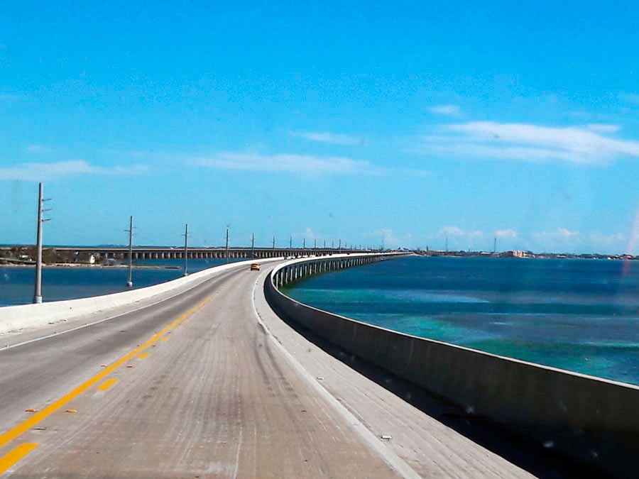 Florida keys. Bridge.