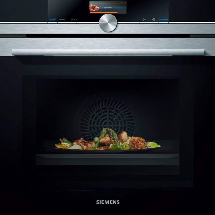 Духовой шкаф с микроволнами Siemens HM636GNS1