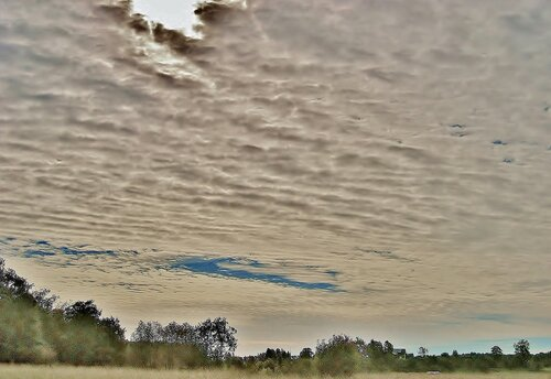 Небо в сентябре