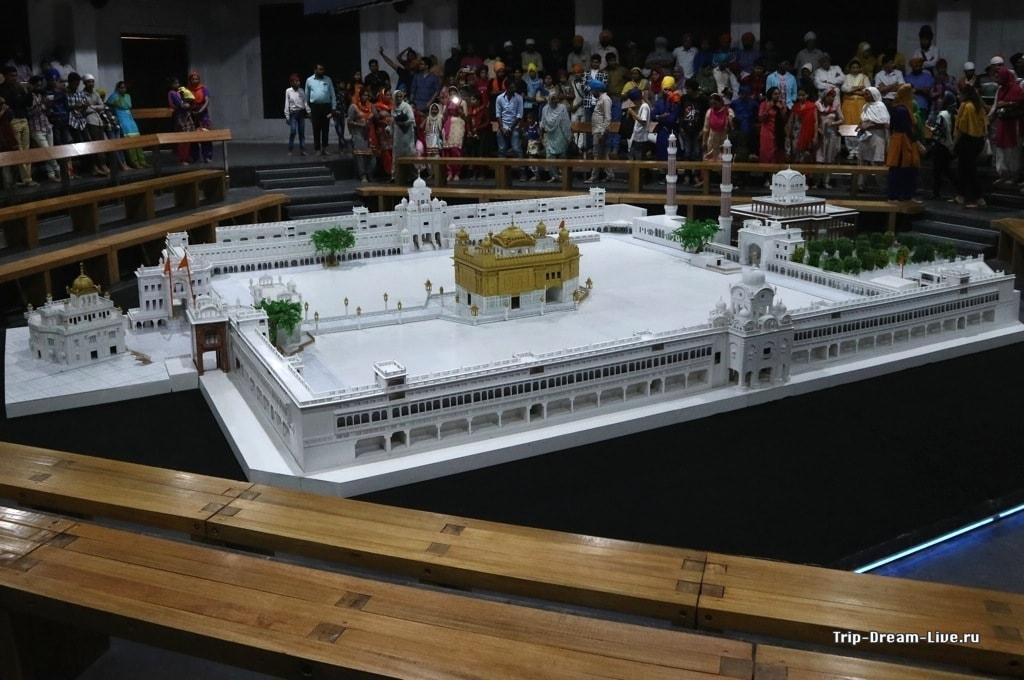 Модель храмового комплекса