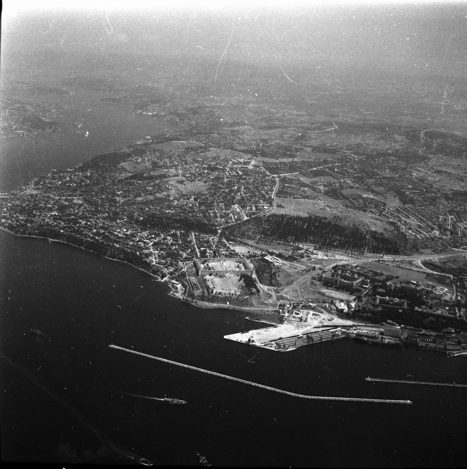 Панорама города с воздуха