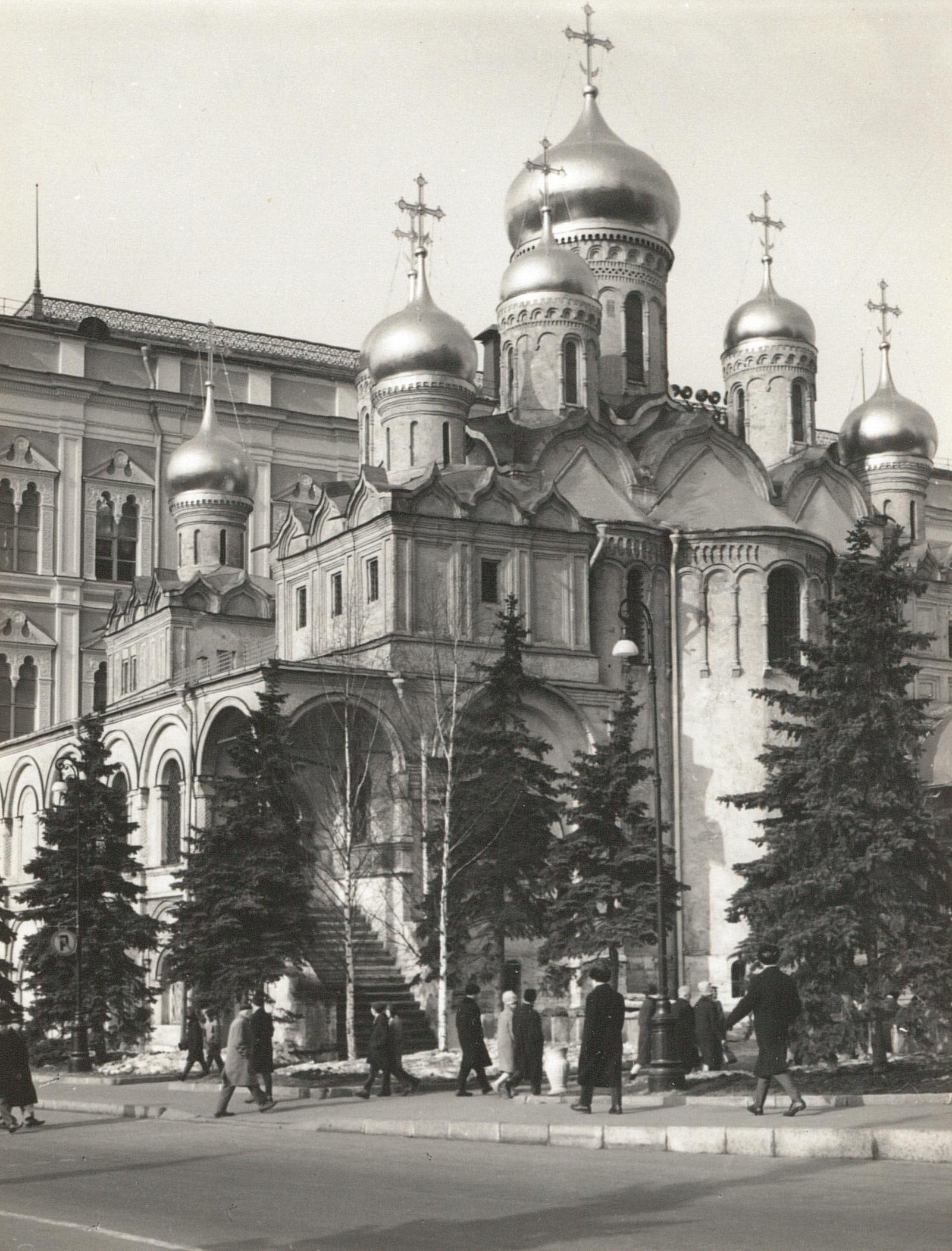 Москва. Кремль. Благовещенский собор. 1967