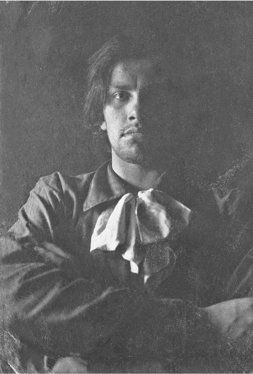 1912. Владимир Маяковский. Москва