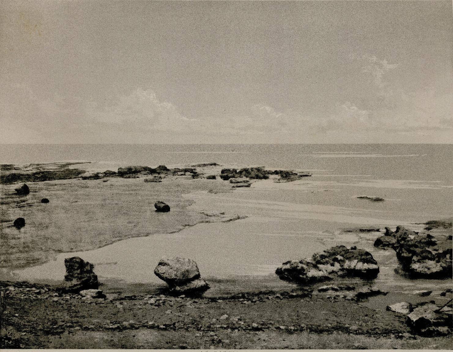 15. Порт Тира, скалы на северной оконечности