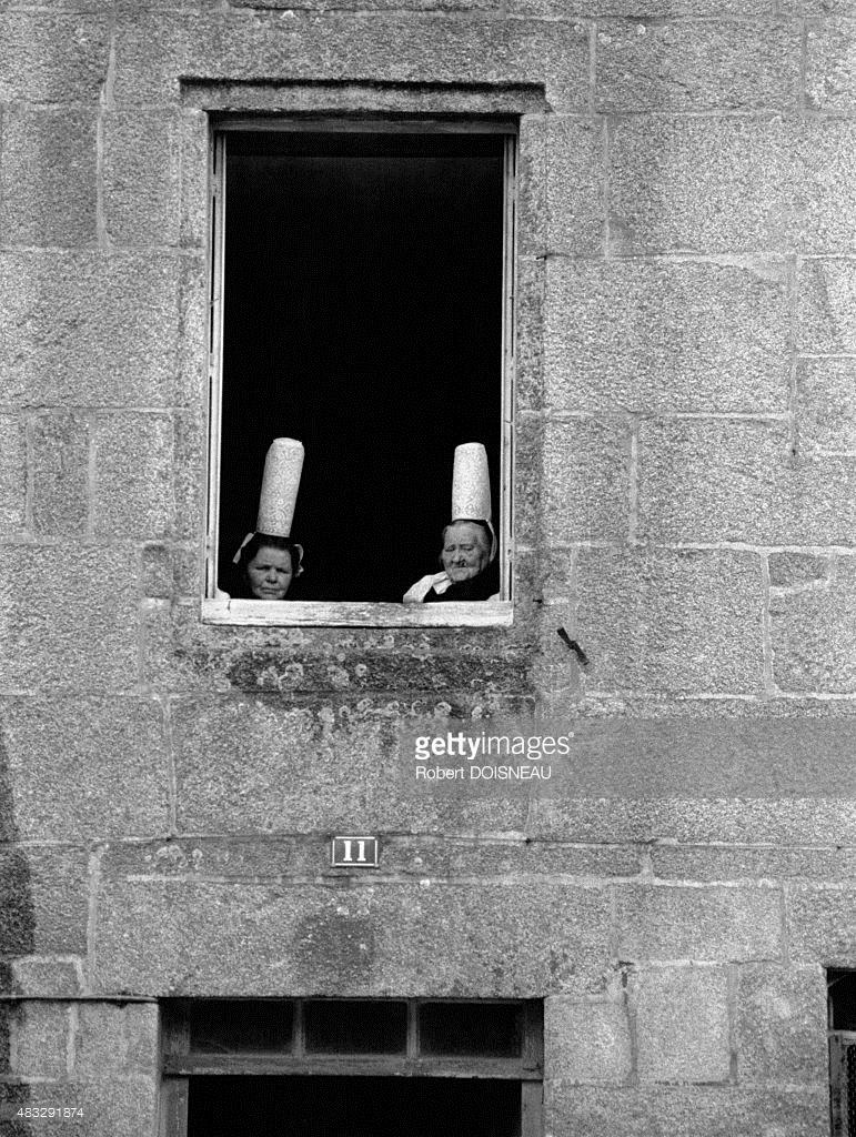 1950-е. Бигудены в Бретани