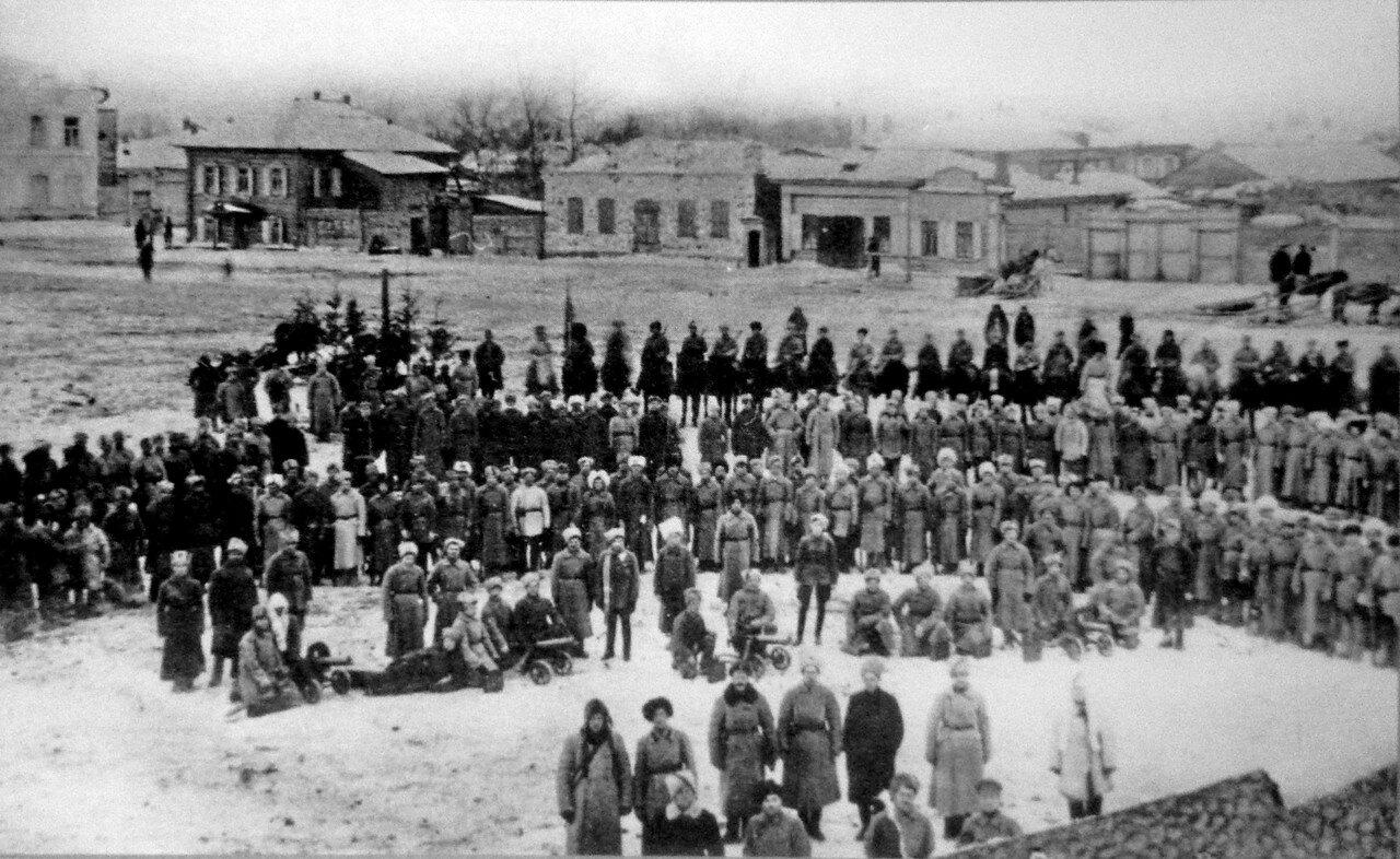 1919. Освобождение Тары от колчаковцев. 16 ноября