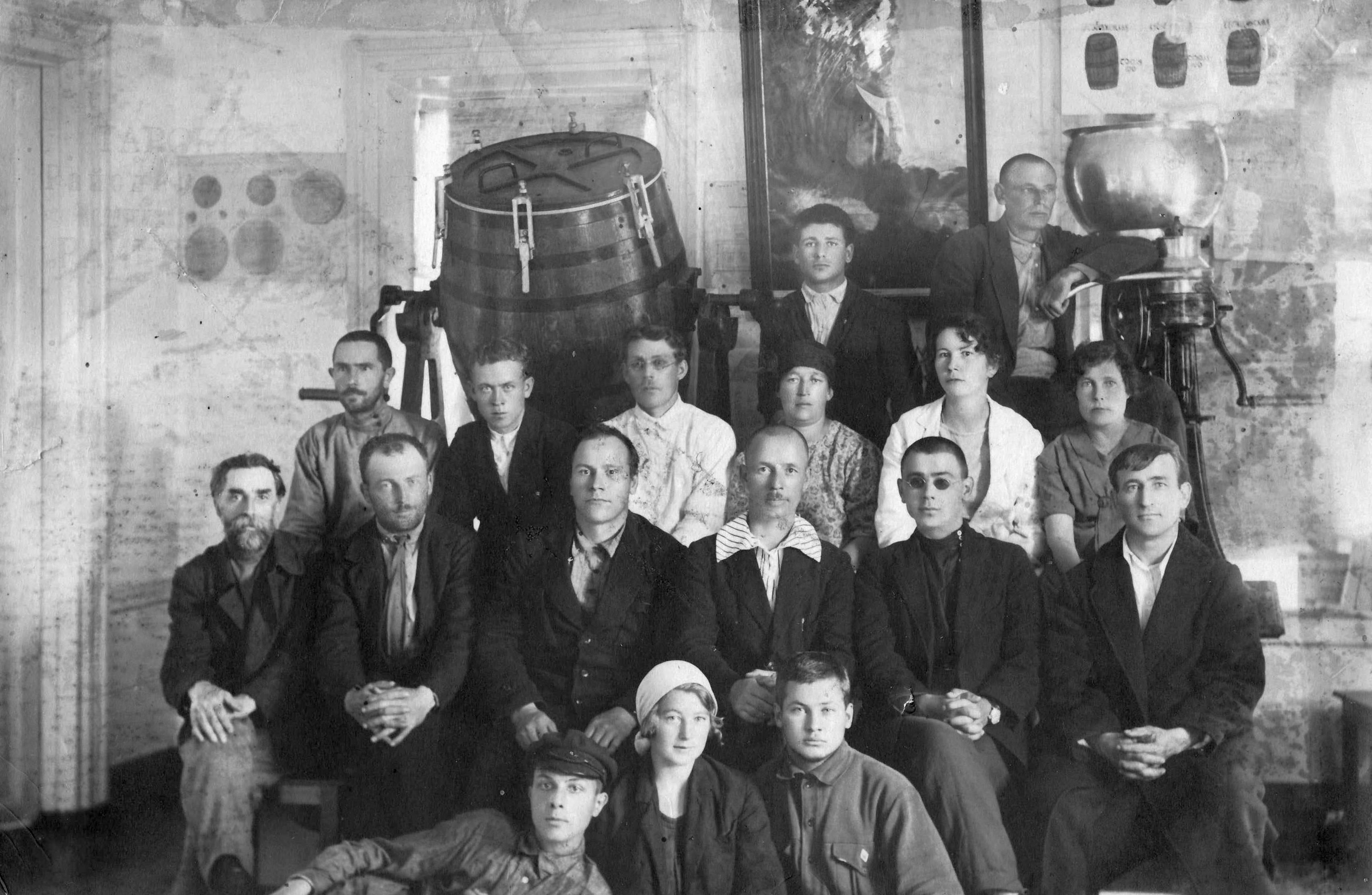 1920. Работники Тарского раймолсоюза