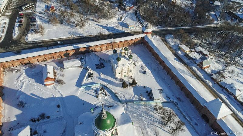 Зарайский кремль. Зарайск.