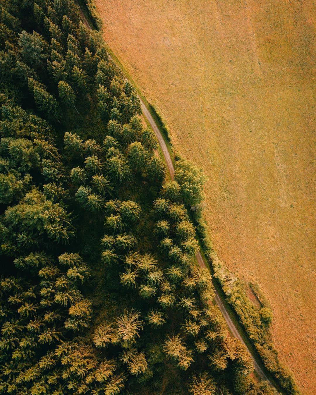 Потрясающие фотографии с дрона Boyan Ortse