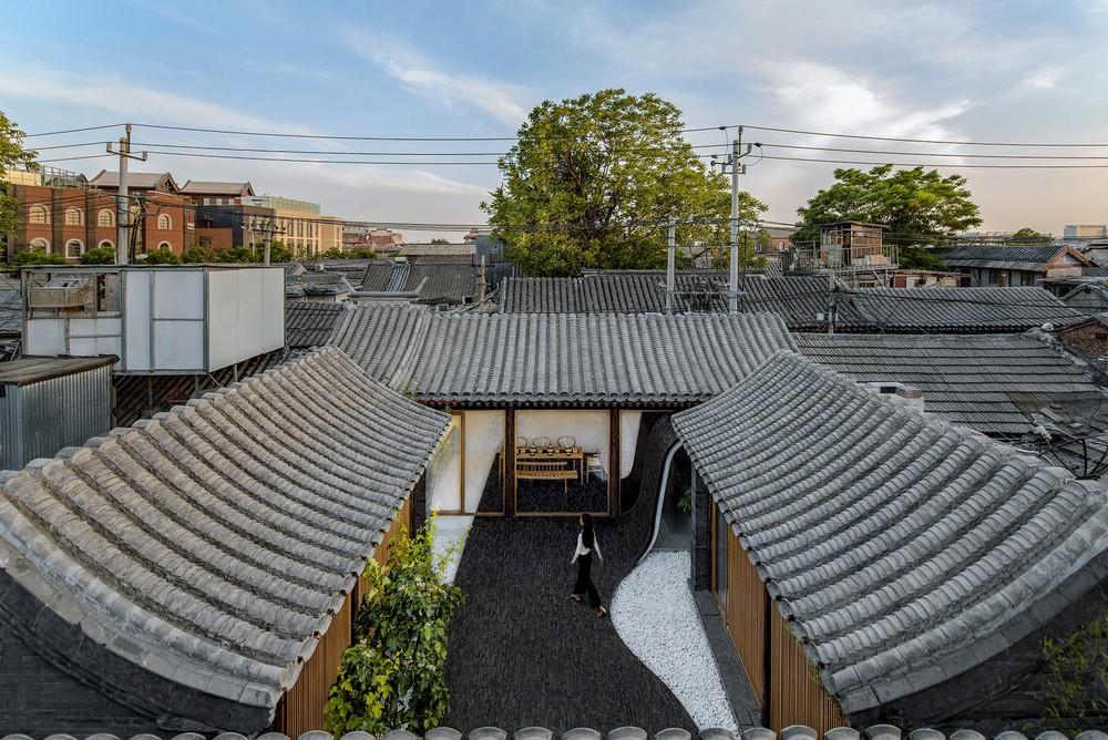 Многофункциональный дом в столице Китая
