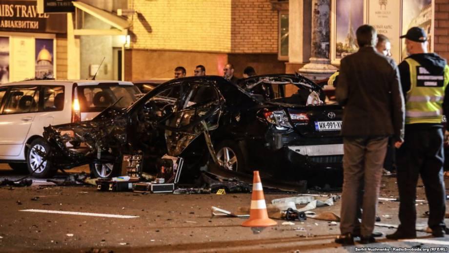 Следователи рассматривают минимум 6 версий взрыва автомобиля в центре Киева – Шкиряк