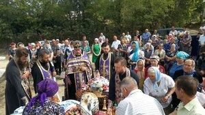 În satul Musteață a fost sfințită Crucea Recunoștinței