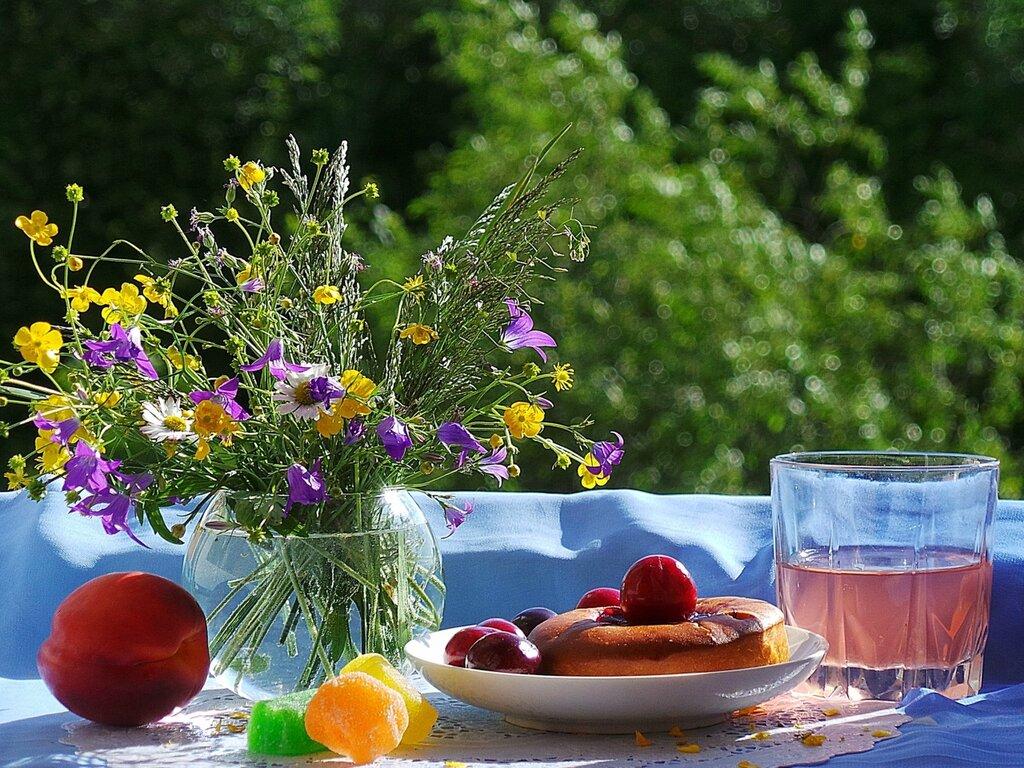 Мой летний завтрак