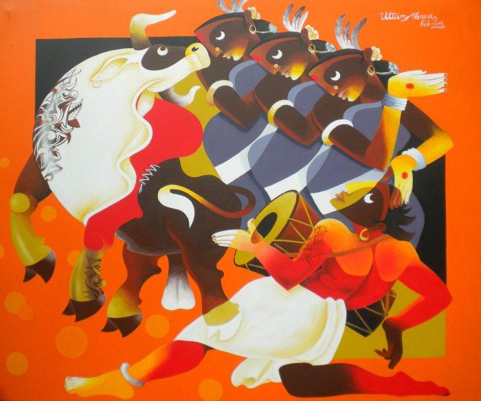 Картины Uttam Manna