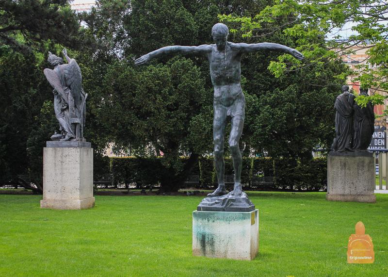 Парк Ресселя в Вене