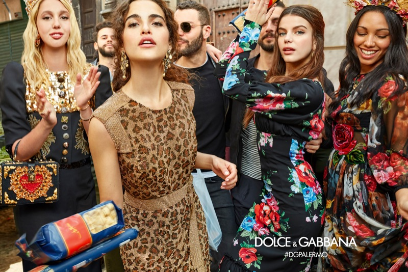 Осенне-зимняя кампания Dolce & Gabbana 2017 (16 фото)