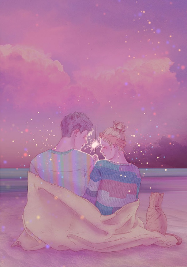 © Hyocheon Jeong  Свлюбленности, когда начувства отвечают взаимностью