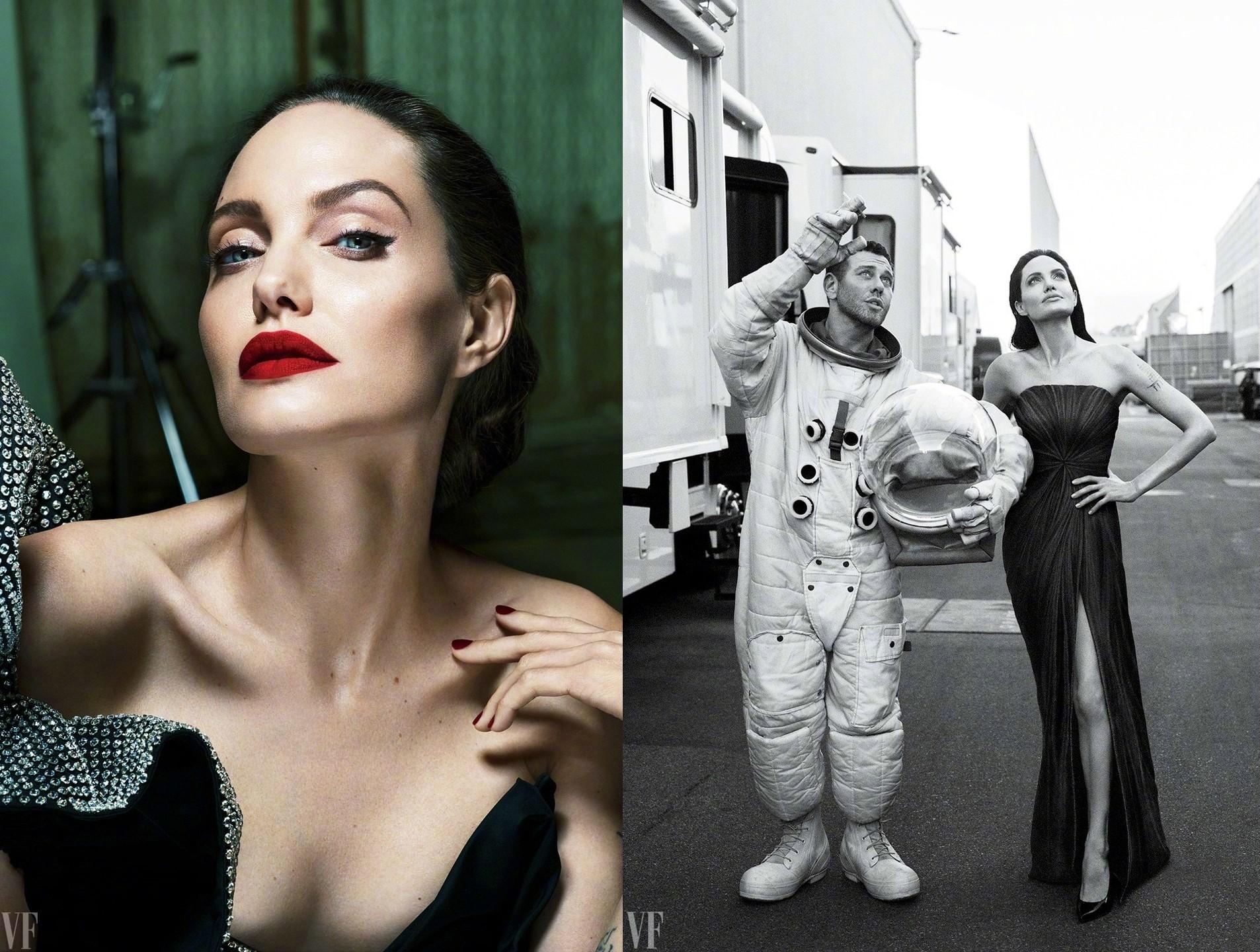 Анжелина Джоли для Vanity Fair September 2017 (9 фото)