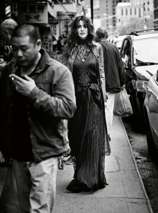 Моника Беллуччи в The Telegraph Magazine