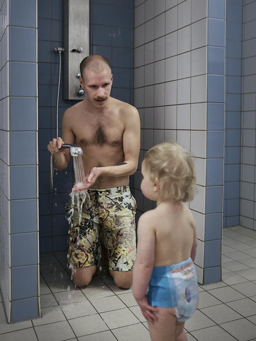 Фредерик Апельберг, 33 года. Присматривает за дочкой Мэйкен уже 9 месяцев.