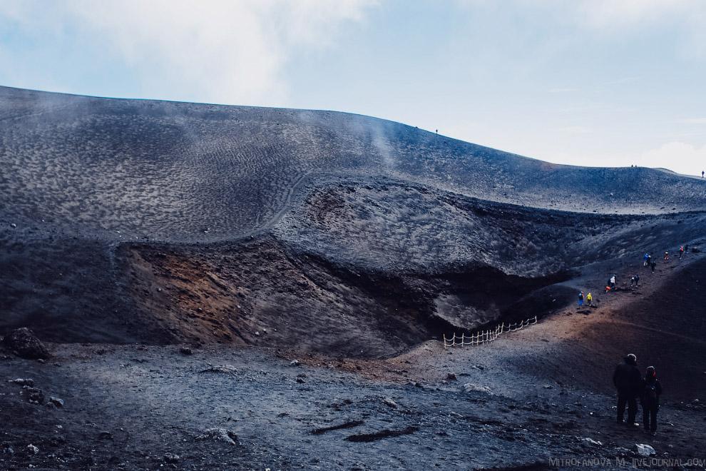 30. Пишут, что из-за постоянной активности Этна была избрана вулканом десятилетия ООН.