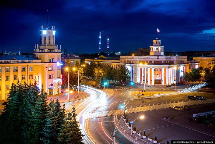 Фотографии и текст Степанова Славы   1. Кемерово расположен на берегах реки Томь, это правый пр