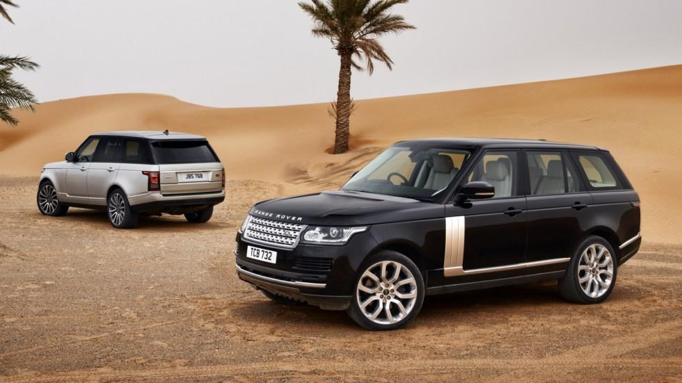 На фото: Range Rover '2012–17    Настолько, что заправляться вы будете, утирая слезы счас