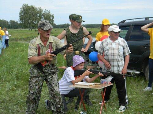 слет ветеранов в Здвинске