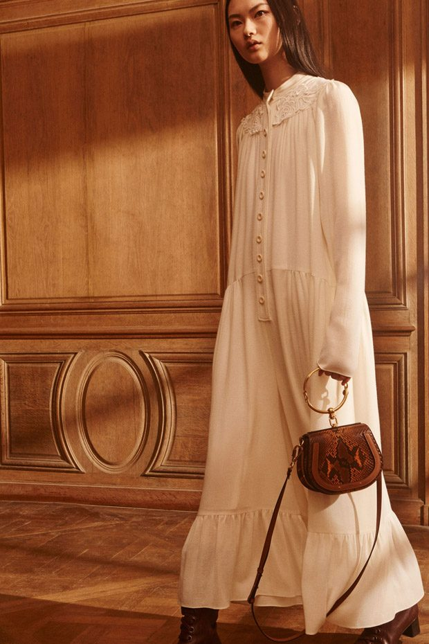 Chloe Pre-Fall 2017 Womenswear Collection
