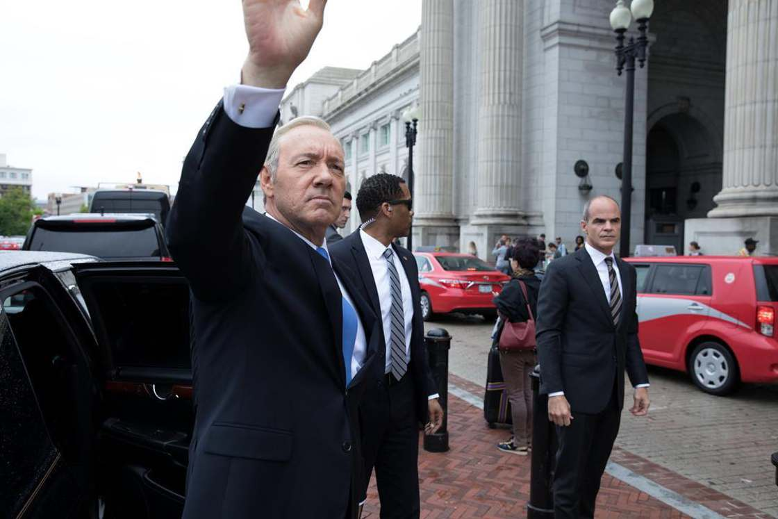 House of Cards - Obama's official photographer captures Frank Underwood