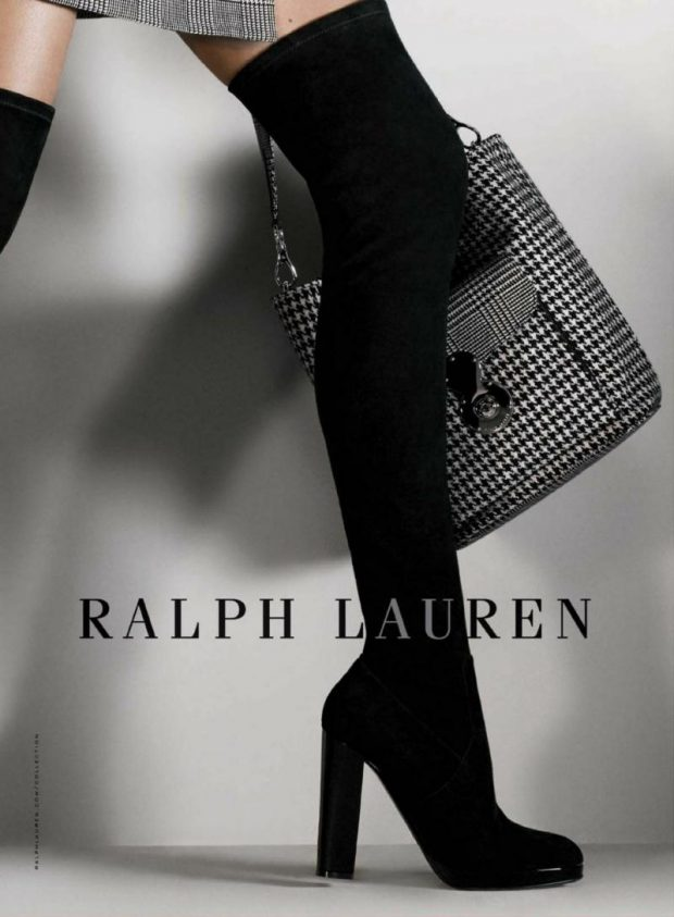 Ralph Lauren Fall Winter 2017 Collection Photographer David Sims Fashion Editor Michel Botbol Hair S