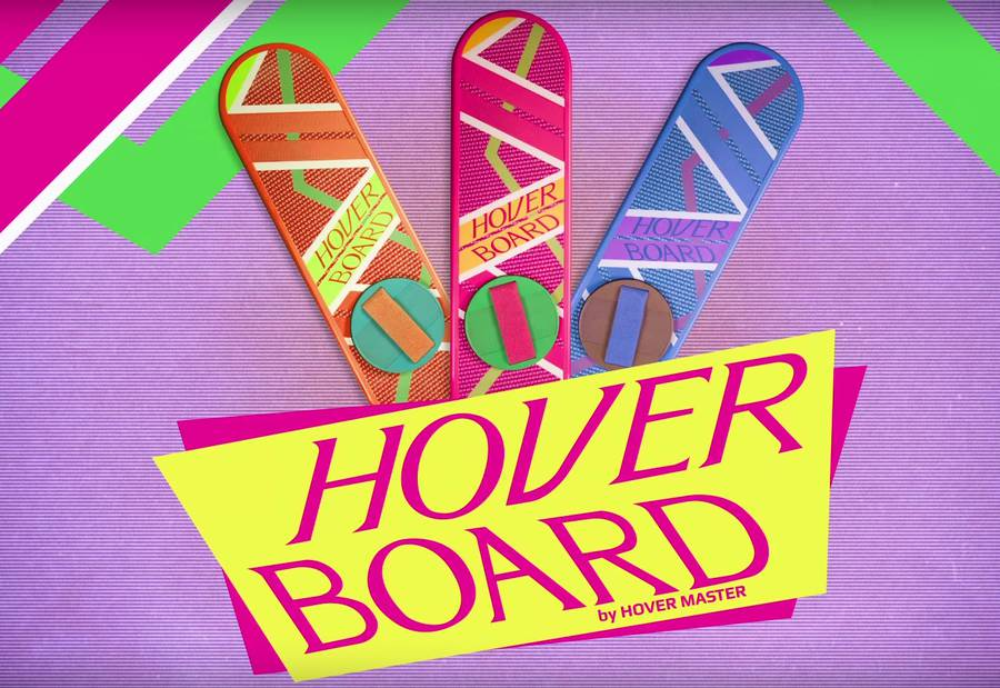 Back to The Future's Hoverboard Ad (5 pics)