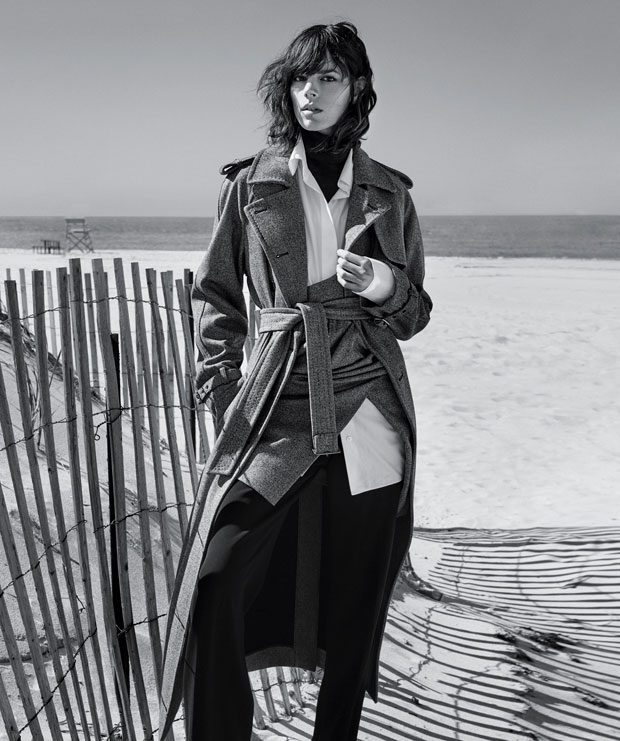 Jula Nobis and Freja Beha Erichsen Front The NY Times September Issue